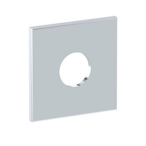 Square Wall Flange - Chrome
