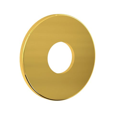 Flat Wall Flange - Gold