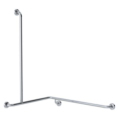 CF Cnr Shower Rail PS 760x1000x1100mm - LH