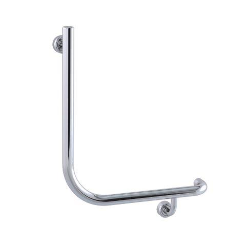 Linear Toilet Rail PS 450x450mm - RH
