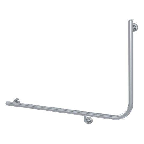 Linear Toilet Rail SS 960x600mm - LH