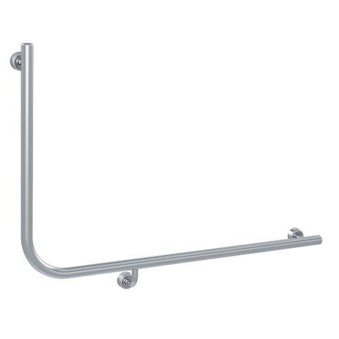 Linear Toilet Rail SS 960x600mm - RH