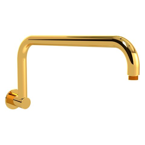 Crane Neck Shower Arm 140mm Gold - FF
