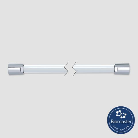 1200mm Antimicrobial Shower Hose - White