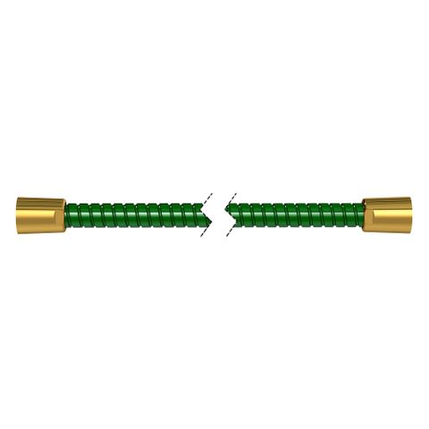 1500mm Softflex Spiral PVC Hose - Green/Gold