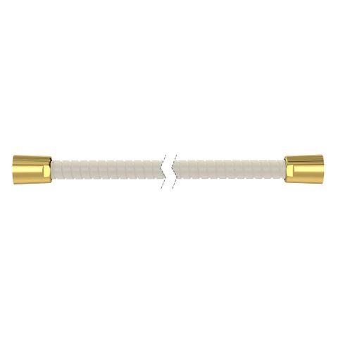 1500mm Softflex Spiral PVC Hose - Ivory/Gold