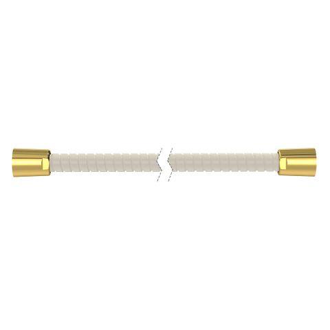 2000mm Softflex Spiral PVC Hose - Ivory/Gold