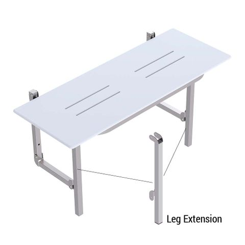 Folding Shower Seat Leg Extensions PS