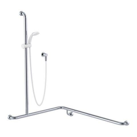 Commercial Kit 13 (1.5m Hose) Chrome/White - LH
