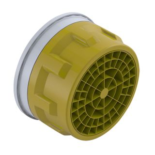 Clinic Colour Coded Aerator (Yellow) - 6L/min