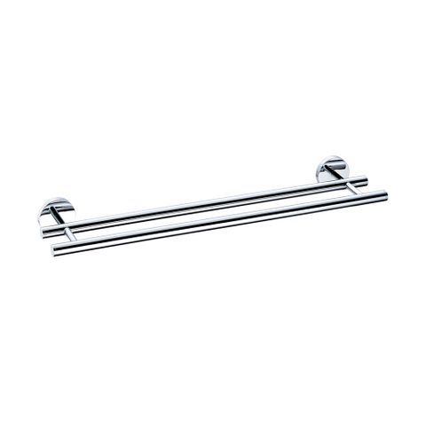 400 Series Double Towel Rail 600mm