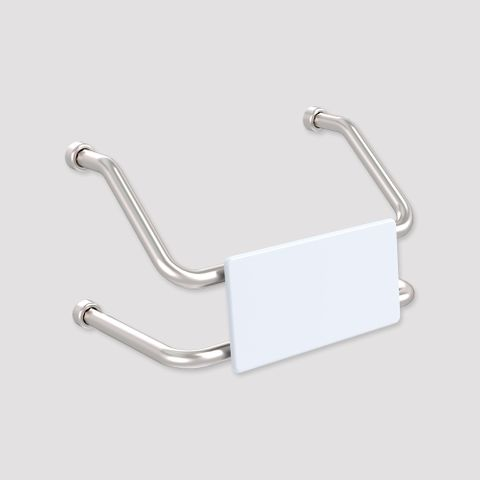 HS Toilet Backrest Wall Mount SS