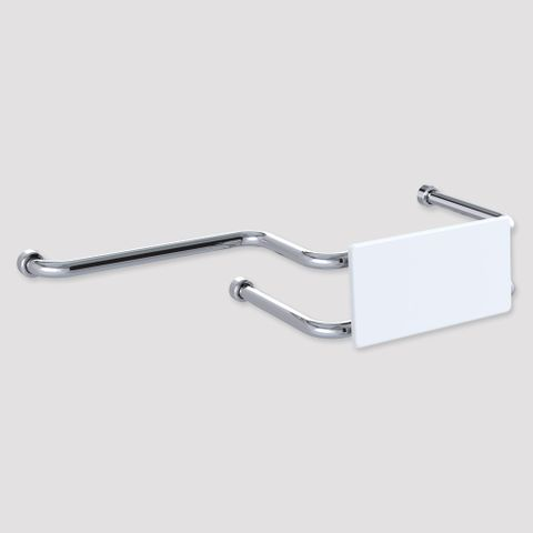 HS Toilet Backrest with ext Wall Mount PS