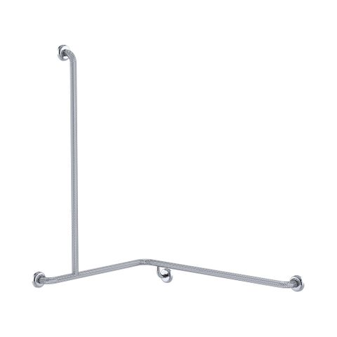 CF Cnr Shower Rail KG 760x1000x1100mm - LH