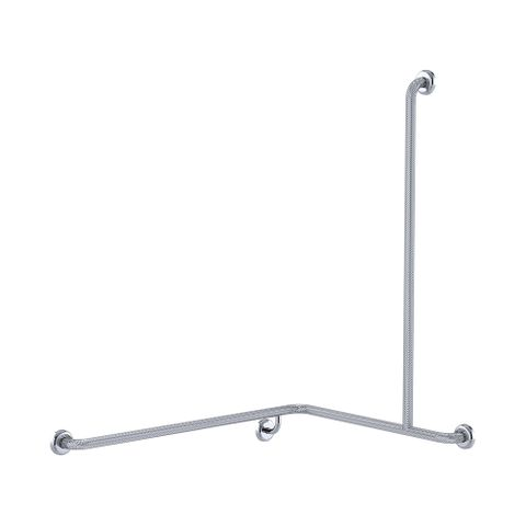 CF Cnr Shower Rail KG 760x1000x1100mm - RH