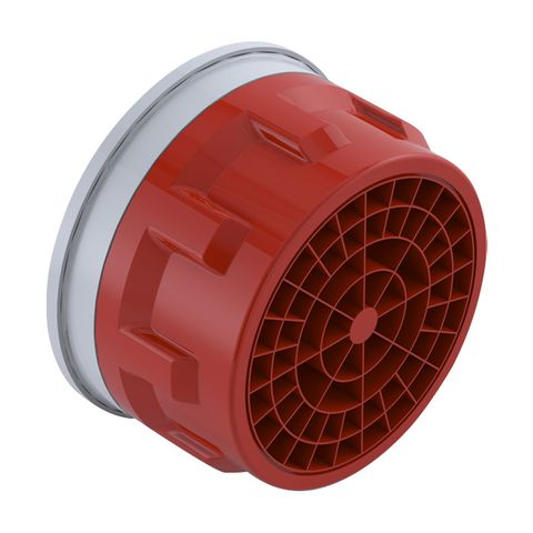 Clinic Colour Coded Aerator (Red) - 6L/min