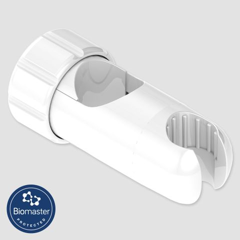 Glide Slide Handset Cradle - Antimicrobial White