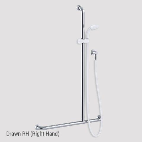 Commercial Kit 16 (1.5m Hose) Chrome/White - RH