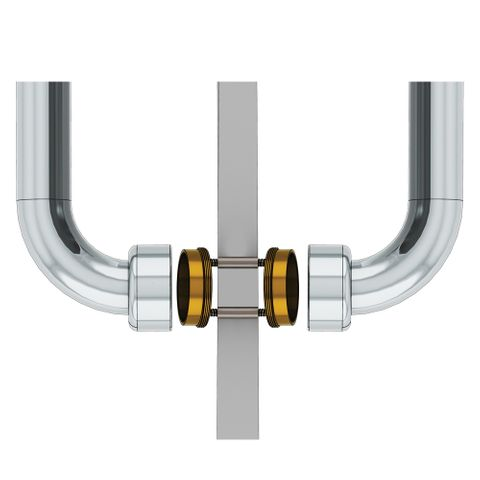 HS Back to Back Wall Mount 30-34mm