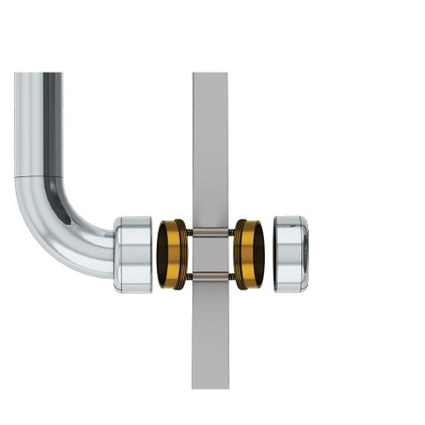 HS Partition Wall Mount 10-14mm