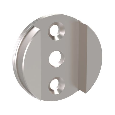 Hygienic Seal Shower Seat Wall Mount Plate