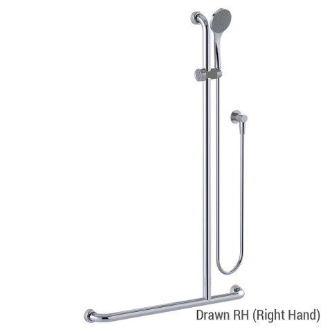 Commercial Kit 16 (1.5m Hose) Chrome - RH