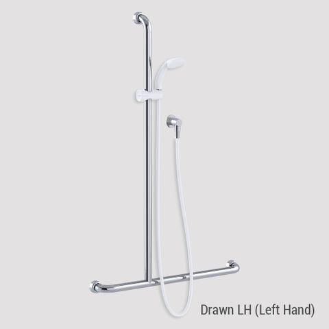 Commercial Kit 16 (1.5m Hose) Chrome/White - LH