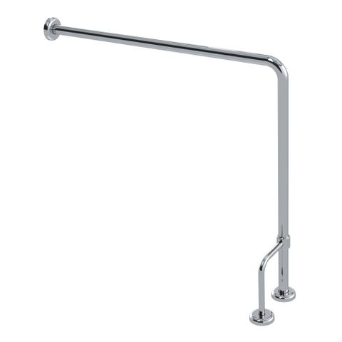 CF Free Standing Toilet Rail PS 800mm