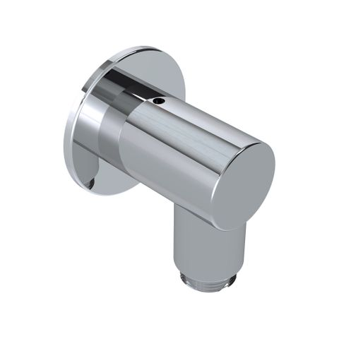 55mm Wall Outlet Elbow Chrome - 12L