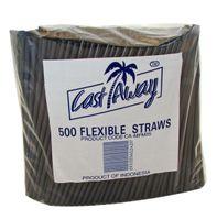 Flexi Straws Black (500)