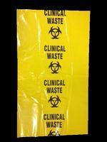 Clinical Waste Bag 960 x 555mm 35um Yellow 65L (250)
