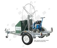 Flex Drive Rodding Machine Trailer