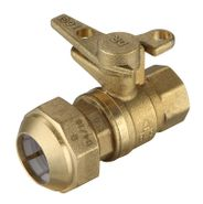 Ball Valves DZR PE x F Lockable T-Handle