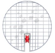 Round Manhole Grate with Guide Wheel
