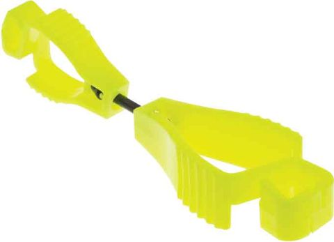 Heavy Duty Glove Clips (Yellow)