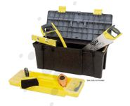 Plastic Tool Boxes with Tray