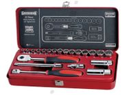 "Sidchrome Metric 3/8"" Drive Socket Set"