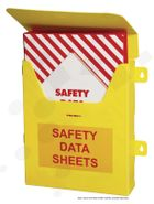 MSDS Folder Holder Folder NOT included