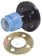 Alprene Metric Poly Flange Adaptors