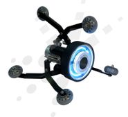 vCam Adjustable Skid with Lights