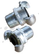 Male Claw Couplings