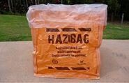 Asbestos Hazibag 2.5 x 1.5 x 0.8 m