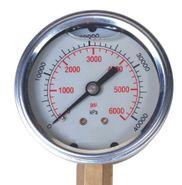 """Test Gauge 65 mm 0-250 kPa 1/4"""""""