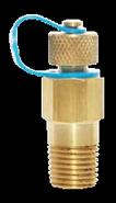 DZR NPT Test Plug ¼