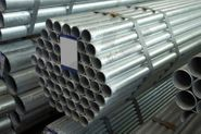 Plain End Galvanised Pipe