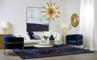 Interior Styling With Blue Statement Pieces