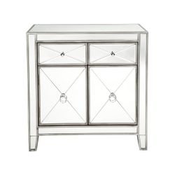 Apolo Cabinet - Antique Silver