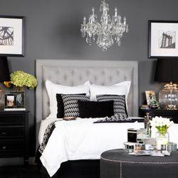 Merci Bedside Table - Large Black