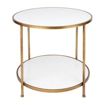 Cameron Marble Side Table