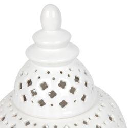 Miccah Temple Jar White Range